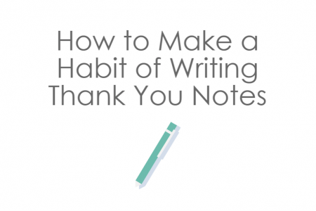 3 tips for writing thank you notes Infographic