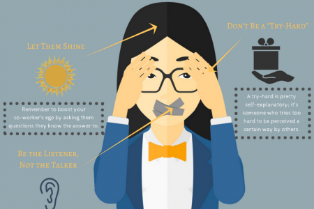3 Way to Make Your Co-Worker Like You Infographic