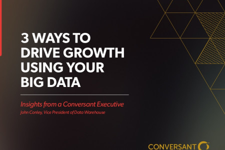 3 Ways to Drive Growth Using Your Big Data Infographic
