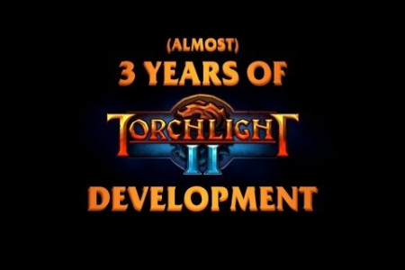 3 Years of Torchlight II Development Infographic