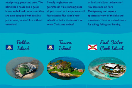30 Private Islands Around The World (That You Can Actually Buy!) Infographic