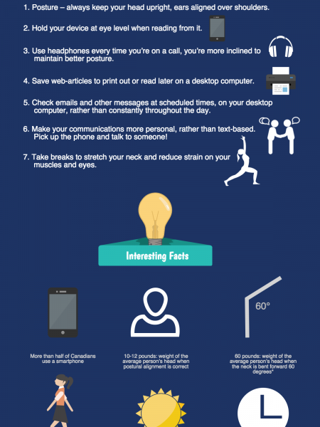 3 Things You Need to Know About Text Neck Infographic