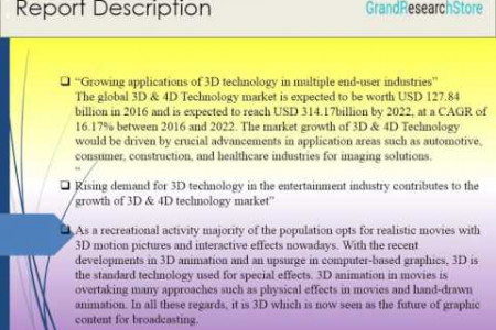 3D & 4D Technology Market by Technology - Global Forecast to 2022 Infographic