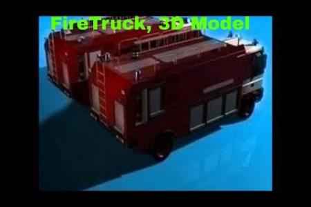 3D Model of Firetruck Review Infographic