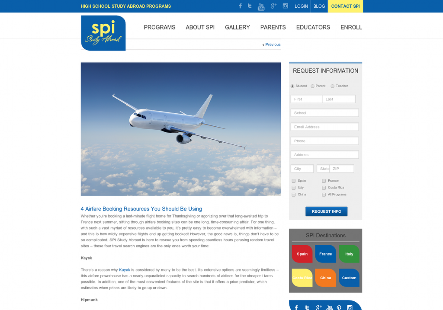4 Airfare Booking Resources You Should Be Using Infographic
