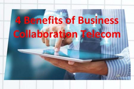 4 Benefits of Business Collaboration Telecom You Must Know Infographic