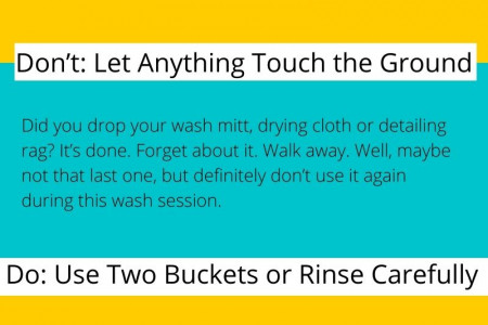 4 CAR WASH TIPS: DOS AND DON'TS WHEN WASHING YOUR VEHICLE Infographic