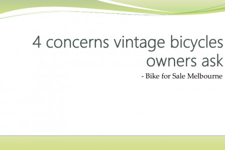 4 concerns vintage bicycles owners ask Infographic