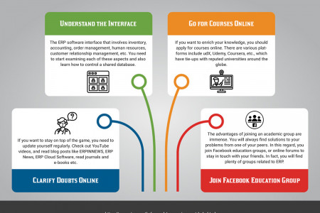 4 Crucial Tips for mastering ERP Application Interface Infographic