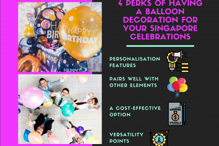 4 Perks Of Having A Balloon Decoration For Your Singapore Celebrations Infographic