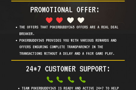 4 Reasons Why Pokerbuddy365 Is The Best Poker Site Infographic