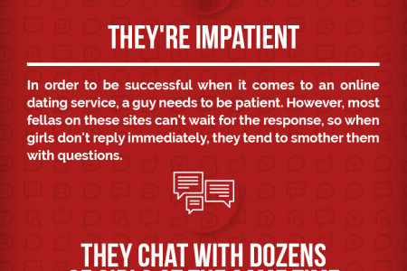 4 Rookie Mistakes All Guys Make On Dating Sites Infographic