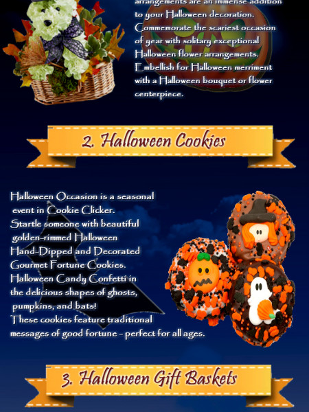 4 Supernatural Gift Ideas For Halloween Which Will Scare Everyones Infographic