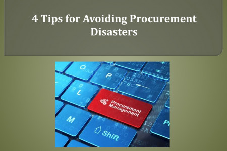 4 Tips for Avoiding Procurement Disasters Infographic
