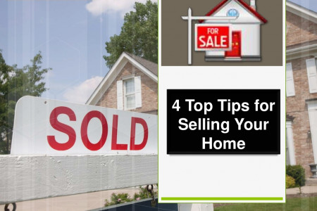 4 Top Tips for Selling Your Home Infographic