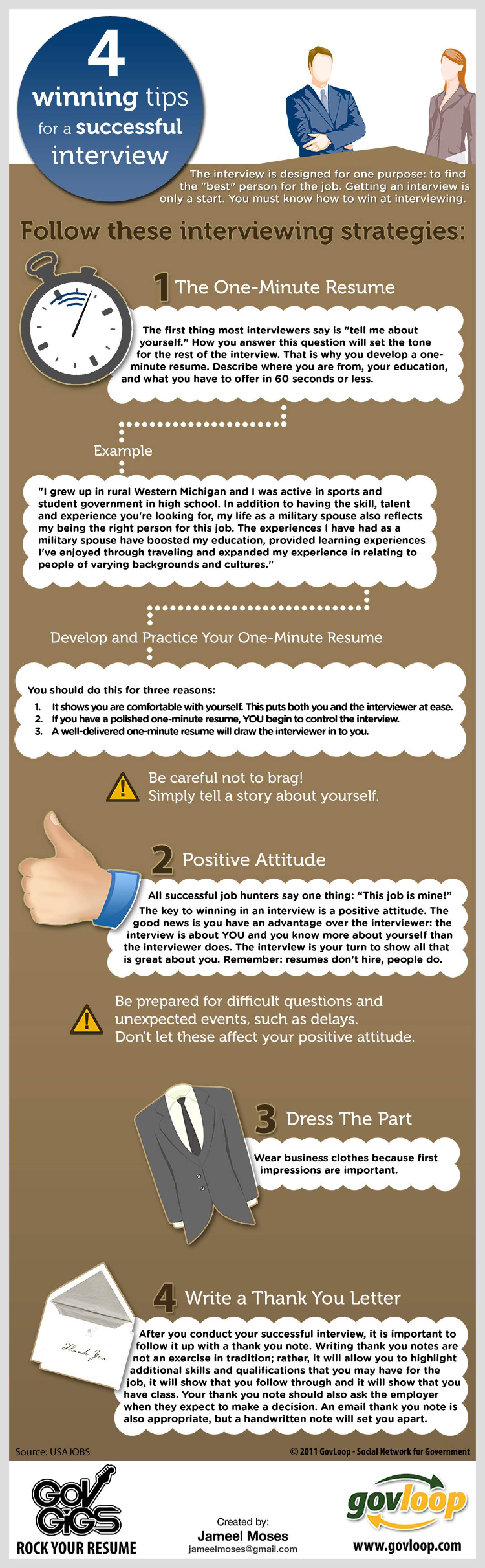 4 winning tips for a successful job interview visual ly 4 winning tips for a successful job interview infographic