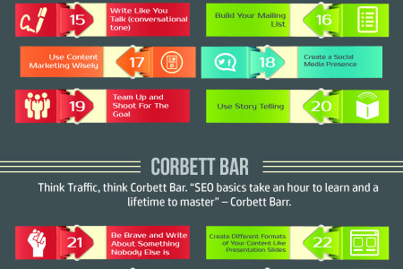 40 Explosive Tactics to Increase Website Traffic – Infographic Infographic