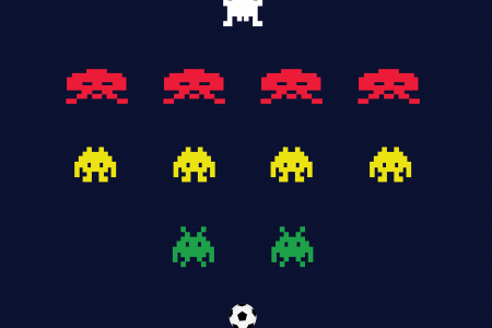 4-4-2  Space Invaders Infographic
