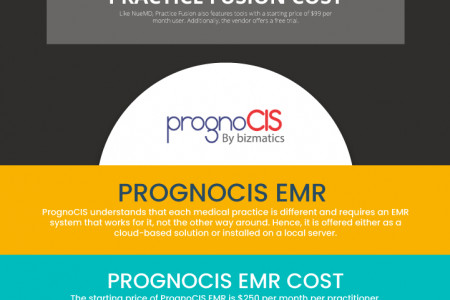 5 Affordable EHR For Small Practice in 2021 Infographic