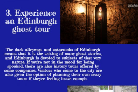 5 amazing things to do in Edinburgh Infographic