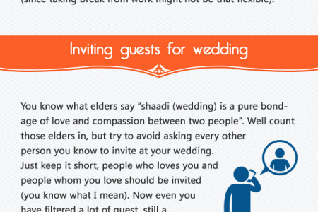 5 amazing tips to save money on wedding in India Infographic