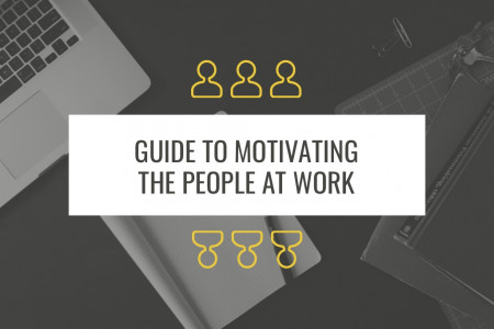 5 Amazing Ways to Motivate the People at Work Infographic