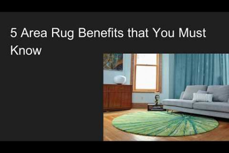5 Area Rug Benefits in 2020 That You Must Know Infographic