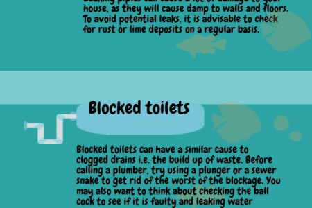 5 avoidable plumbing problems and how to fix them Infographic