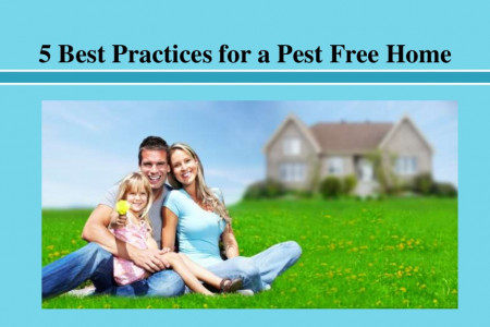 5 Best Practices for a Pest Free Home Infographic