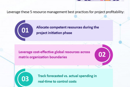 5 Best Practices to Reduce Project Management Costs Infographic