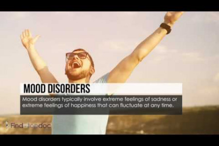5 Common Mental Disorders Infographic