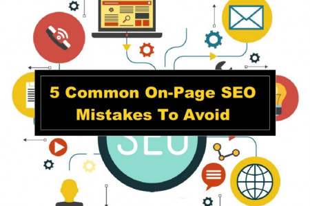5 Common On-Page SEO Mistakes To Avoid Infographic