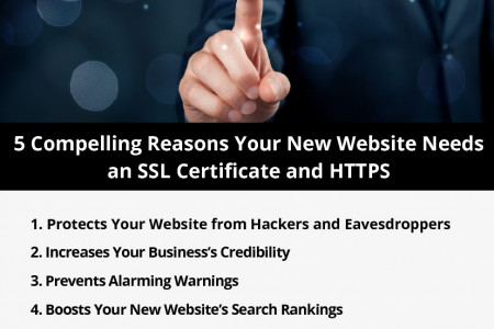5 Compelling Reasons Your New Website Needs an SSL Certificate and HTTPS Infographic