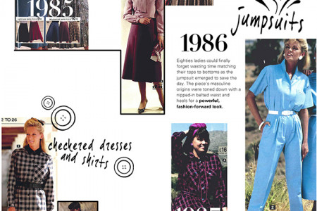5 Decades of Fashion Infographic