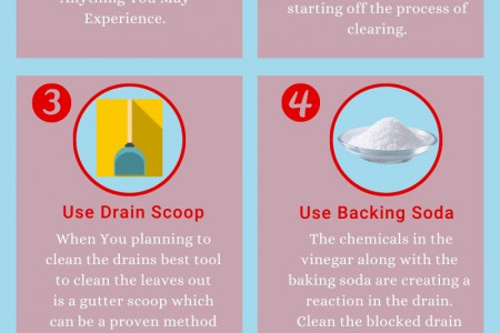 5 DIY  Tips For Cleaning Blocked Drains Naturally Infographic