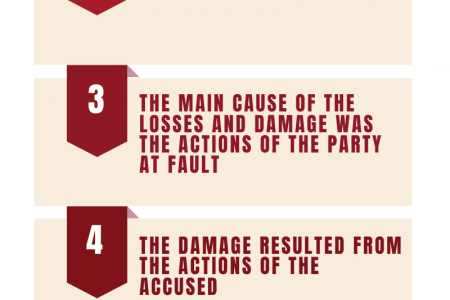 5 Elements of Negligence in Personal Injury Lawsuit Infographic