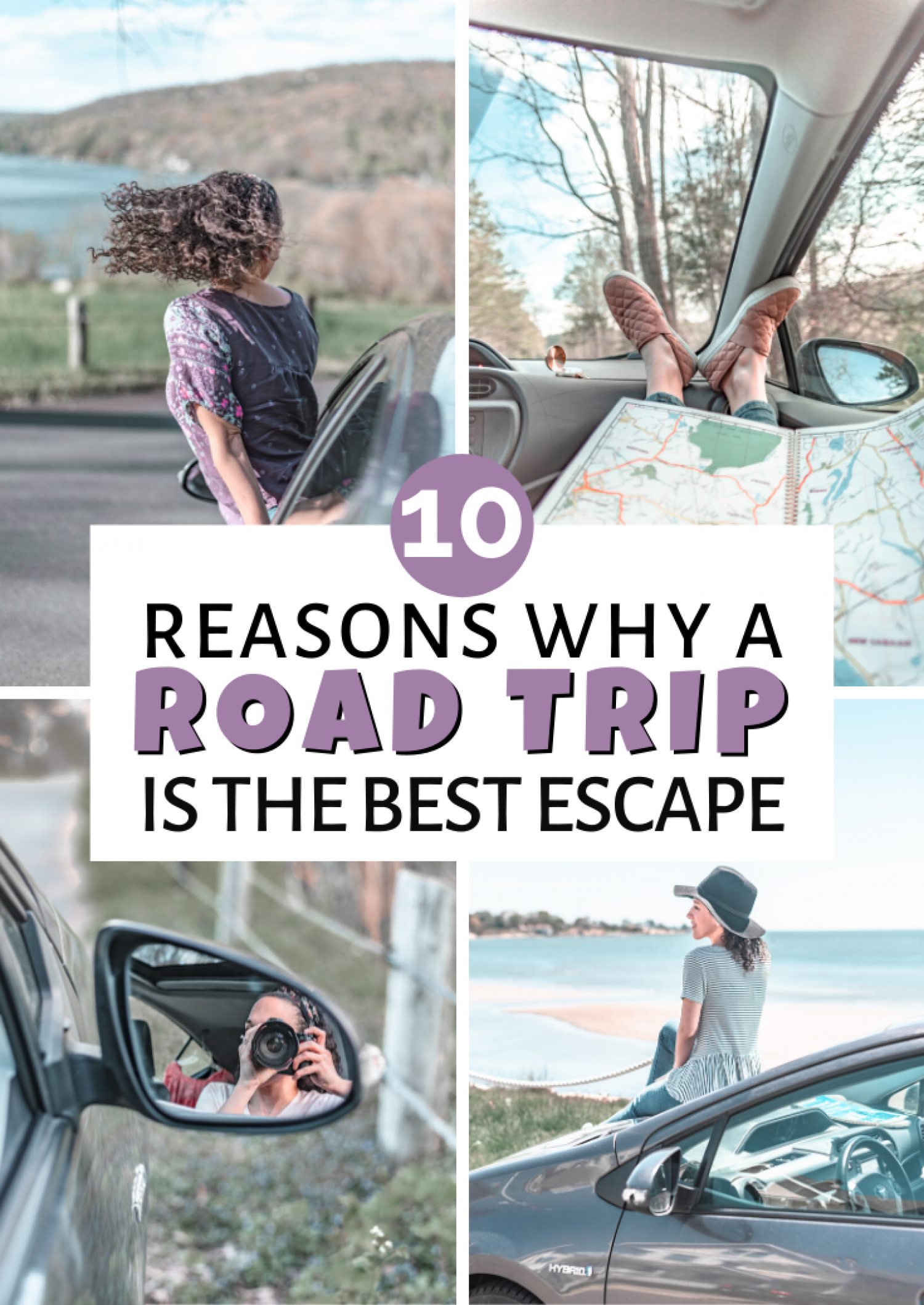 5 Empowering Reasons Why Road Trips are perfect reason to escape Infographic