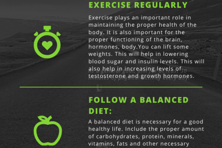 5 ESSENTIAL RULES OF GOOD HEALTH Infographic