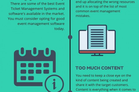 5 Event Management Problems and How to Avoid Them Infographic
