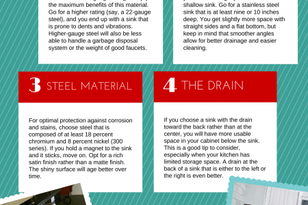 5 Factors To Consider When Purchasing A Stainless Steel Sink Infographic