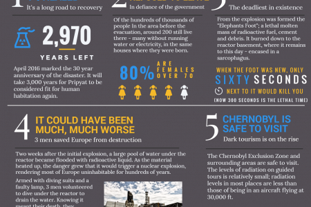 5 facts about the Chernobyl Disaster Infographic