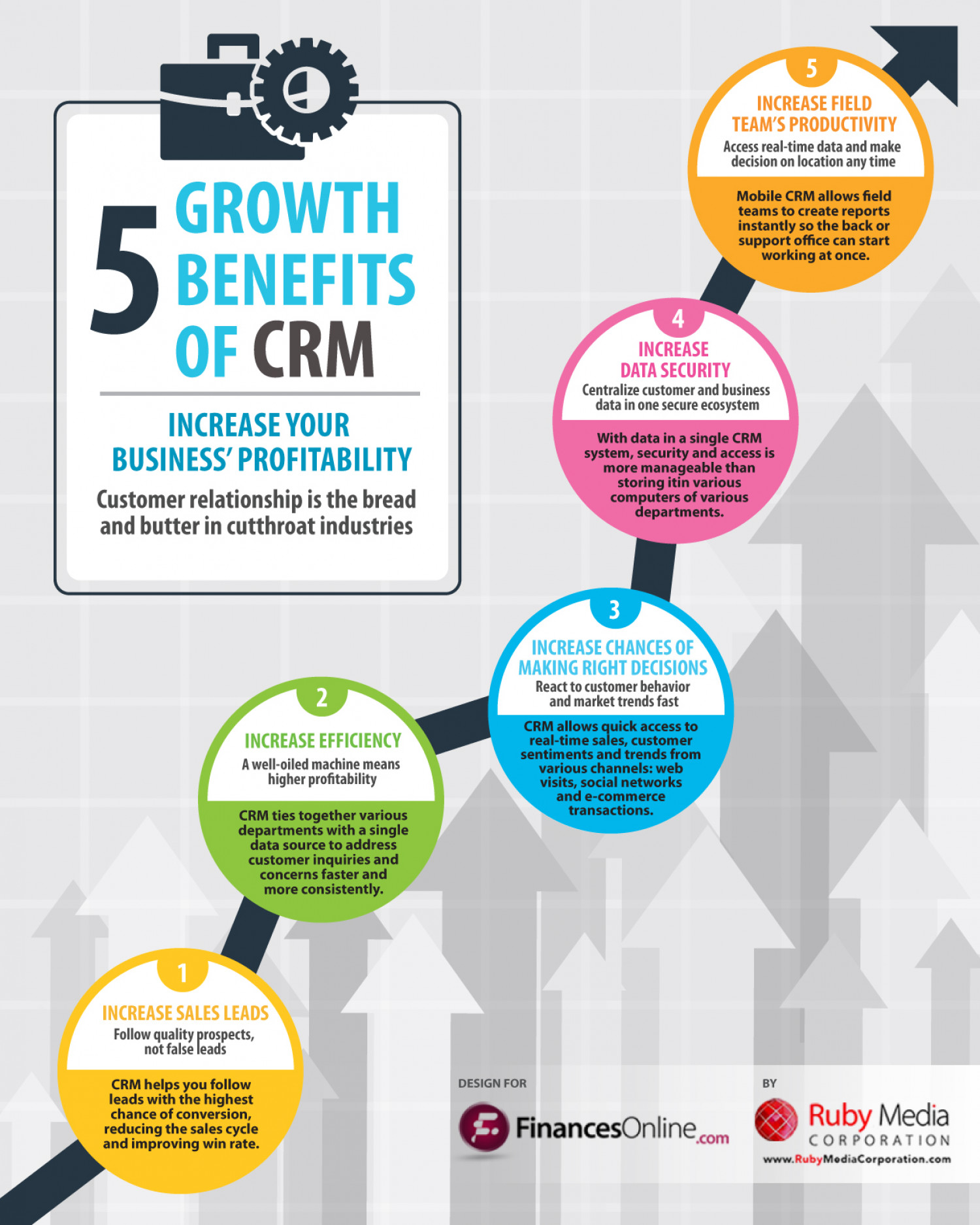 5 Growth Benefits Of Crm Visual Ly