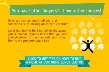 5 Hot Property Negotiation Tips Infographic