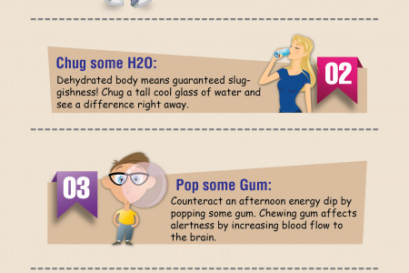 5 Incredible Caffeine Free Energy Boosters Infographic