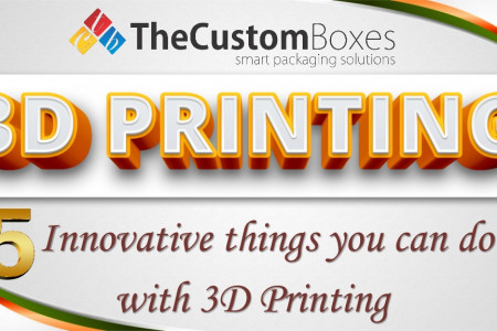 5 Innovative Things You can do with 3D Printing Infographic