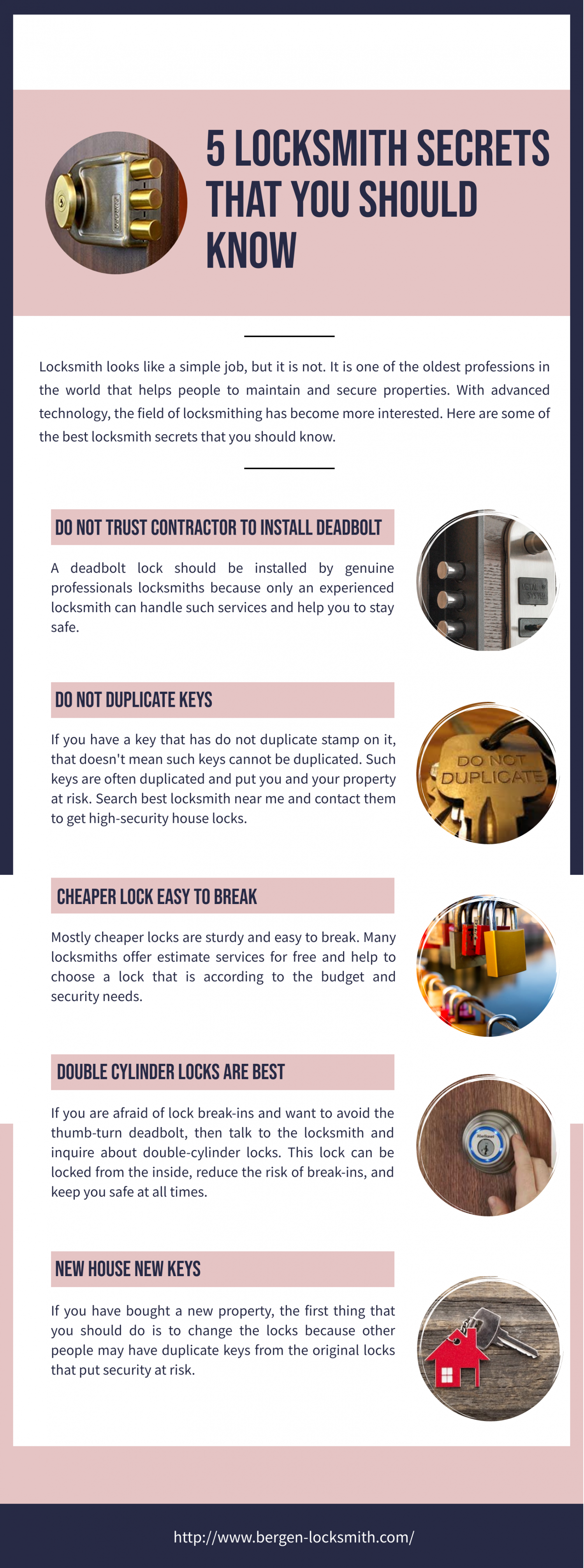 5 Locksmith Secrets That You Should Know Infographic