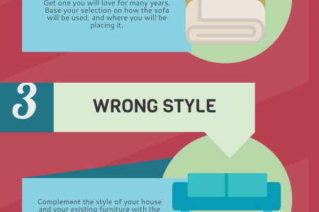 5 Mistakes To Avoid When Buying A Sofa Infographic