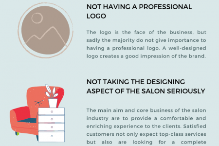 5 Mistakes To Avoid When Starting Your Own Salon Infographic