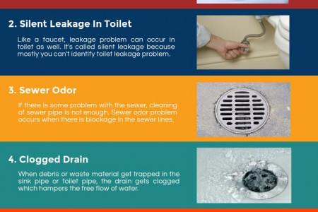 5 Most Common Commercial & Residential Plumbing Problems Infographic