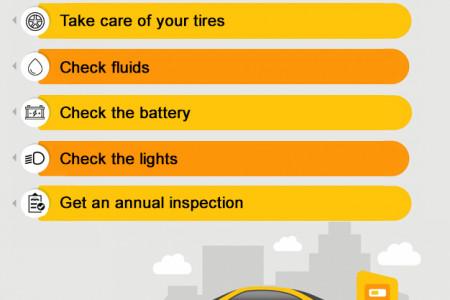5 Most Important Car Maintenance Tips Infographic